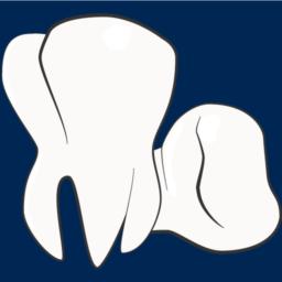 Munnen din logo blå bakgrunn
