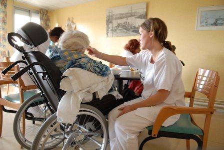 Pleie på sykehjem