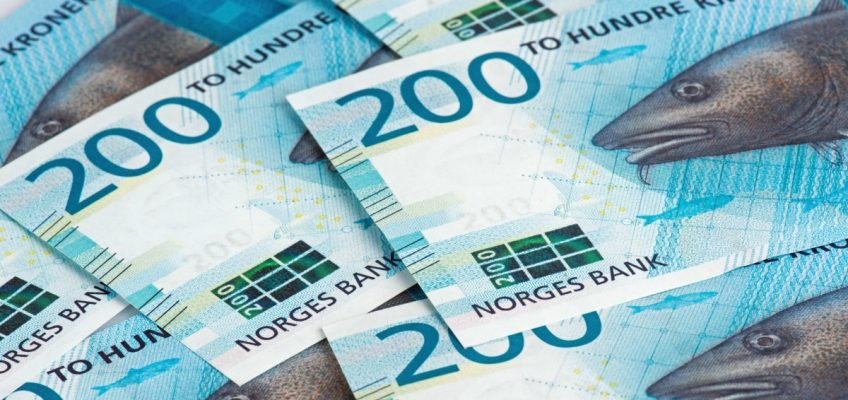Norske kroner - 200 sedler